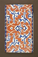 Tile from the Bedroom of Murad III at the Topkapi Saray Palace