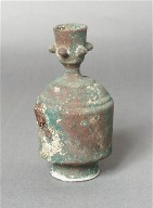 Finial in the Form of a Vase with Pedestal Base