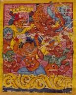 Mara's Retinue, Folio from an Ashtasahasrika Prajnaparamita (The Perfection of Wisdom in 8,000 Verses)