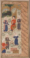Yusuf Sold as a Slave, Probably from a Manuscript of the Yusuf and Zuleykha of Jami