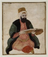 Portrait of Sultan Murad III Seated