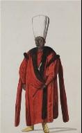 Turkish Personage and Costume: Kizlar Aghasi, Chief Eunuch