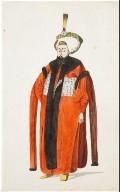 Turkish Personage and Costume: Sultan Mahmud II (1808-1839)