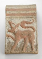 Tile with Lion