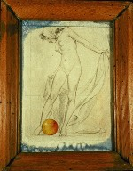 Untitled (Standing Nude Drawing)
