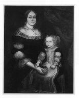 Mrs. Richard Patteshall (Martha Woody) and Child