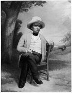 Daniel Webster at His Farm