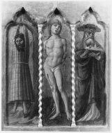 Saints Vittorino, Sebastian and Jerome