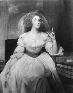 Mrs. Billington as Saint Cecilia