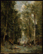 Bacchanal at the Spring: Souvenir of Marly-le-Roi