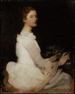 Girl in White (Margaret Greene)