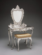 Martelé Dressing Table and Stool