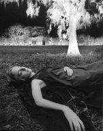 Woman Asleep Under Tree