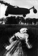 Flying Machine & Woman's Dress