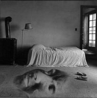 Bed with Face on Floor