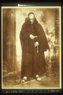 William Leighton Leitch as a monk in Sir Walter Scott's --The Abbot--