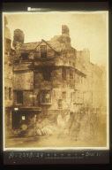 John Knox house before Restoration