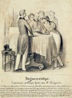 Daguerréotype. Expérience publique faite par M. Daguerre.