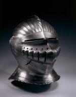 Close Helmet in Maximilian Style