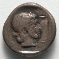 Half Drachm: Female Head (Artemis ?) (reverse)
