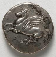 Stater: Pegasus (obverse)