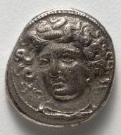 Drachma: Fountain Nymph Larissa (obverse)