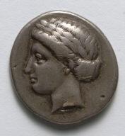 Drachma: Apollo (obverse)