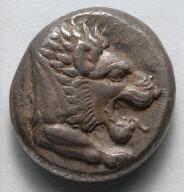 Drachm: Lion (obverse)