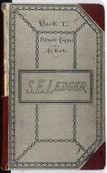 Artist's ledger - Book I: cover