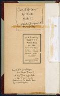 Artist's ledger - Book I: frontispiece