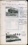Artist's ledger - Book II: P. 69 RAILROAD TRAIN STATION