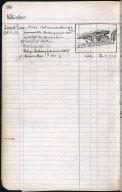 Artist's ledger - Book II: P. 38 LOCUST TREES