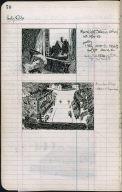 Artist's ledger - Book II: P. 70 MOONLIGHT INTERIOR AMERICAN VILLAGE