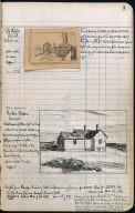 Artist's ledger - Book II: P. 3 CITY ROOFS RYDER HOUSE