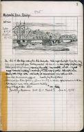 Artist's ledger - Book II: P. 7 McCOMB'S DAM BRIDGE