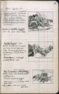 Artist's ledger - Book II: P. 45 SPINDLEY LOCUSTS MOUNTAIN MEADOW NEAR THE BACK SHORE