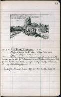 Artist's ledger - Book II: P. 81 LIGHT BATTERY AT GETTYSBURG