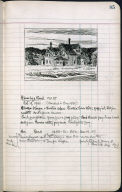 Artist's ledger - Book II: P. 85 HOUSE BY A ROAD