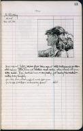 Artist's ledger - Book II: P. 13 JO PAINTING