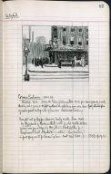 Artist's ledger - Book II: P. 87 CORNER SALOON