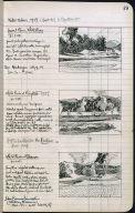 Artist's ledger - Book II: P. 49 GRAVEL BAR WHITE RIVER WHITE RIVER AT ROYALTON WHITE RIVER AT SHARON