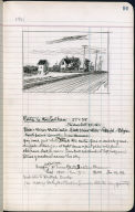 Artist's ledger - Book II: P. 91 ROUTE 6