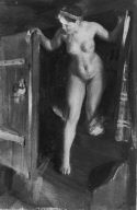 [Nude Girl in Doorway, Interior with Nude Girl in Doorway]