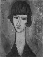 [Portrait of a Woman, Mme, Kisling]
