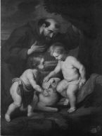 The Christ Child and the Infant Saint John with Saint Francis