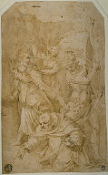 Study for the Death of Saint Peter Martyr