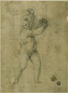 Putto with Raised Arms