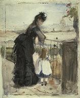 [On the Balcony, On the Balcony, Meudon]
