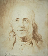 [Benjamin Franklin, Portrait of Benjamin Franklin, Head of Benjamin Franklin]