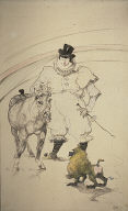 [At the Circus: Trained Pony and Baboon, Au Cirque: Cheval et Singe Dresses]